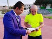 حسام حسن يحفز لاعبيه على الفوز أثناء وجبة الغداء