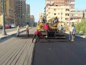 """""""مديرية الطرق بالإسكندرية"""" تواصل تنفيذ الخطة الاستثمارية لحى الجمرك"""