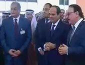 الرئيس السيسي يطلق بوابة التأشيرة الإلكترونية.. ويؤكد: يزيد أعداد السائحين