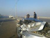 صور.. إصابة 26 فى حادث تصادم على الطريق الدولى بكفر الشيخ