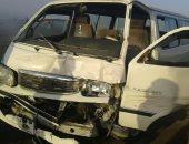 بالأسماء إصابة 26 فى حادث تصادم على الطريق الدولى بكفر الشيخ