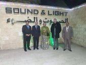"""نائبة سكرتير الأمم المتحدة: """"الصوت والضوء"""" رحلة رائعة تدون لتاريخ الحضارة"""