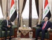 نائب الرئيس العراقى لسفير مصر ببغداد: نقف إلى جانبكم فى حربكم ضد الإرهاب