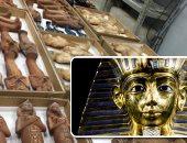فيديو.. مدير الترميم بالمتحف الكبير: مقتنيات توت عنخ آمون تعرض على نحو 7 آلاف متر