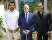 محافظ جنوب سيناء يلتقى عبد الواحد السيد ويعلن دعمه لنادى المحافظة