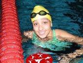 أية أيمن تتوج بفضية سباق 100 متر حرة فى بطولة العالم للسباحة البارالمبية