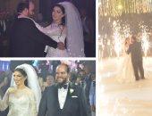 نجوم مسرح مصر وزوجاتهم فى حفل زفاف محمد عبد الرحمن