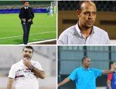 """4 مدربين يرفعون شعار """"لا للبطالة"""" فى الدورى المصرى"""