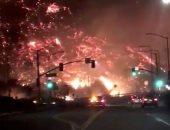 كاليفورنيا تحترق.. النيران تجتاح الولاية الأمريكية والطائرات تحاول إخمادها (صور)