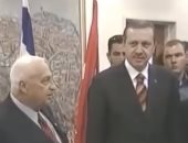 """فيديو لـ""""أستاذ أردوغان"""" يفضخ علاقته بتل أبيب ورئاسته لمشروع إسرائيل الكبرى"""
