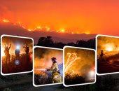 س و ج.. القصة الكاملة لأكبر 3 حرائق تضرب كاليفورنيا الأمريكية