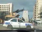 نقل رئيس حى شرق بورسعيد لديوان المحافظة بواقعة تمثال عبد المنعم رياض