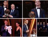 كريستيانو رونالدو يفوز بالكرة الذهبية الخامسة فى تاريخه