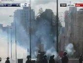 إصابة 14شخصا بالاختناق و2 بالرصاص فى صفوف المتظاهرين الفلسطينيين