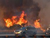 صور.. أمريكا تفشل فى إخماد حرائق كاليفورنيا والنيران تبتلع منازل السكان