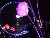 مهرجان الأضواء فى باريس يبهر ألاف الزائرين