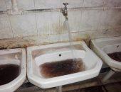 شكوى من تلوث مياه الشرب فى المدينة الجامعية بطنطا وتحولها للون الأسود