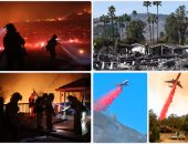 جحيم فى كاليفورنيا..النيران تجبر ترامب على إعلان الطوارئ بعد تدمير 500 مبنى