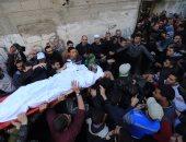 استشهاد فلسطينيين اثنين فى قصف طائرات الاحتلال لشمال بيت لاهيا