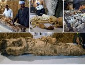اكتشاف مقبرتين أثريتين بمحافظة الأقصر