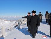 """زعيم كوريا الشمالية يزور جبل """"بايكتو"""" بالجنوبية لاستعراض الوحدة"""