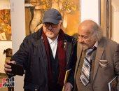 """صور.. افتتاح معرضى """"جورج بهجورى"""" و""""الزعيم أحمد"""" بجاليرى ضى"""