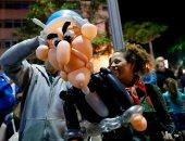 صور.. 10 آلاف متظاهر إسرائيلى فى تل أبيب يطالبون بإقالة نتنياهو