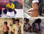 شاهد.. نصف مليون طفل من الروهينجا يواجهون مستقبلا مظلما لحرمناهم من التعليم