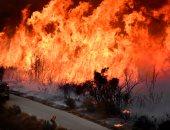 صور.. استمرار حرائق كاليفورنيا رغم تراجع قوة الرياح