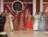 """تعرف على الأزياء الباكستانية من فاشون شو المصممة """"عائشة فريد"""""""