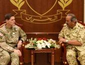 صور.. قائد عام دفاع البحرين يلتقى عسكريين من أمريكا وبريطانيا وباكستان