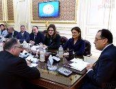 القائم بأعمال رئيس الوزراء يلتقى نائب رئيس مجموعة البنك الدولى