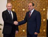 """بوتين لـ""""السيسى"""": أمامنا الكثير من المشاريع الجيدة بما فيها المحطة النووية"""