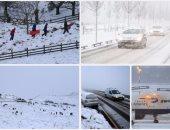 السلطات البريطانية تحذر من سقوط مزيد من الثلوج بعدد من مناطق البلاد