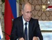 بوتين: تعزيز التبادل التجارى مع مصر  العام الحالى بزيادة 4 مليارات دولار