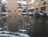 """غرق شوارع قرية """"الثمانين"""" فى كفر الشيخ بمياه الصرف الصحى"""