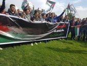 طلاب الأكاديمية البحرية بالإسكندرية ينظمون وقفة احتجاجًا من أجل القدس