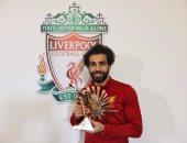 """""""فيفا"""" يهنئ محمد صلاح بجائزة أفضل لاعب فى أفريقيا"""