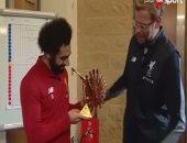 شاهد.. لحظة تسلم محمد صلاح جائزة الـ BBC كأفضل لاعب فى أفريقيا