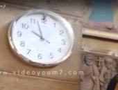 فى تمام العاشرة.. لحظة توقف ساعة الكنيسة البطرسية فور تعرضها للانفجار