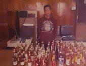 الأموال العامة تضبط صاحب محل خمور قبل ترويجه 93 زجاجة خمور بالقاهرة