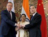 لافروف: روسيا والهند والصين تحرص على مواجهة الإرهاب بلا هوادة