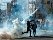 تجدد المواجهات بين فلسطينيين وقوات الاحتلال فى بيت لحم عقب صلاة الجمعة