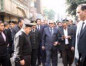 بدء إصلاح ورصف شارع الأزهر اتجاه ميدان الأوبرا
