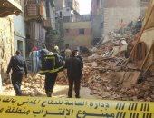 """""""رسالة"""" تطلق قوافل مساعدات لسكان العقارات المنهارة بمنطقة روض الفرج"""