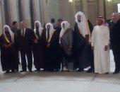 رئيس محكمة النقض يستقبل وفدا قضائيا سعوديا رفيع المستوى