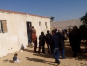 مبادرة حديد المصريين لإعادة إعمار القرى تعاين قرية الروضة تمهيدا لإعمارها
