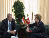 وزيرة الاقتصاد السويسرية: مصر شهدت تحسنا كبيرا فى مجال الاستثمار.. صور