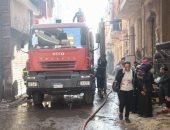 الداخلية: إصابة 14 شخصا وتفحم طابق فى انفجار إسطوانتين غاز بورشة أحذية