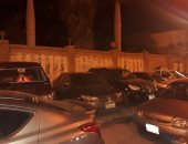 شكوى من ركن السيارات على الرصيف وإعاقة المارة بشارع النخيل بالهرم